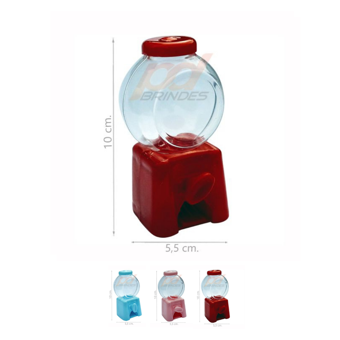Mini Baleiro Candy Machine - 24 Unidades