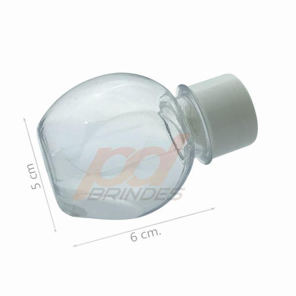 Mini Baleiro Plástico Branco - Kit 010 peças