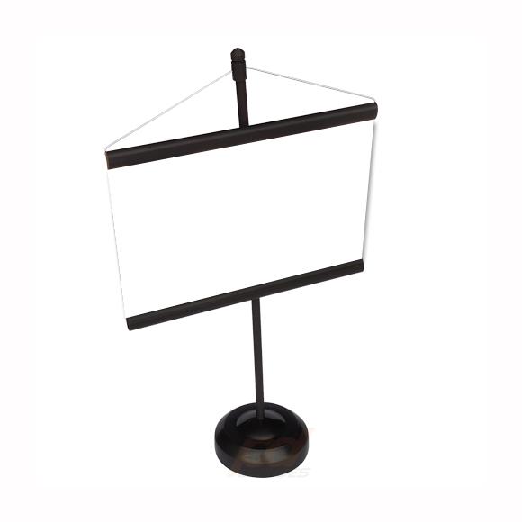 Mini banner de mesa Preto - Para Foto 15 cm - Kit 050 peças