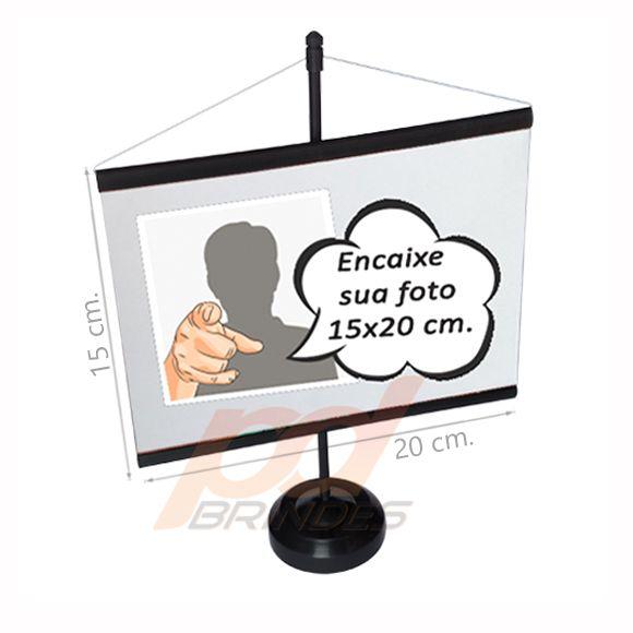 Mini banner Preto 15x20 cm. - Kit 070 peças