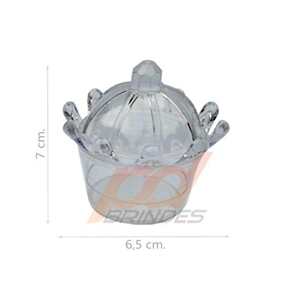 Mini Coroa Cristal - Kit 010 peças