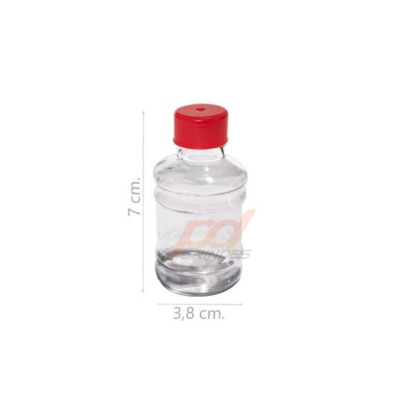 Mini Galão Vermelho - Kit 10 Unidades