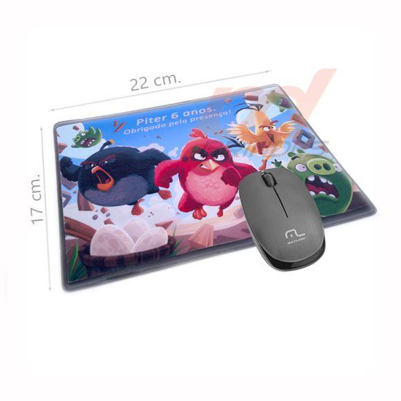 Mouse pad porta foto - Kit 050 peças