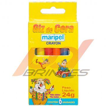 Para Colorir - Giz de cera - Kit 48 caixas