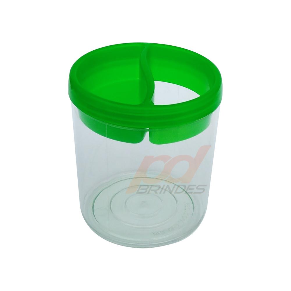 Porta Lápis de Acrílico Verde - 010 peças