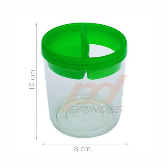 Porta Lápis de Acrílico Verde - 050 peças