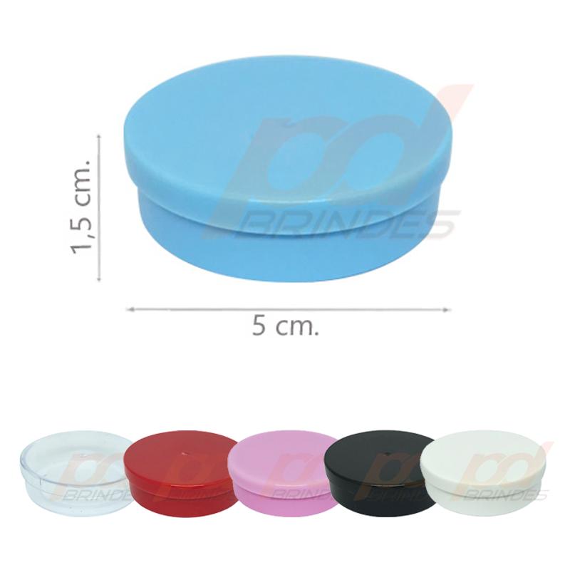 Potinho Plástico 5x1,5 cm - 200 Unidades