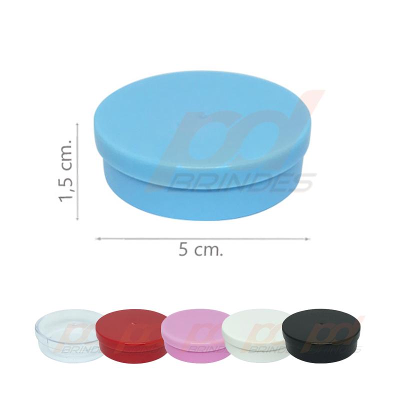 Potinho Plástico 5x1,5 cm - 500 Unidades