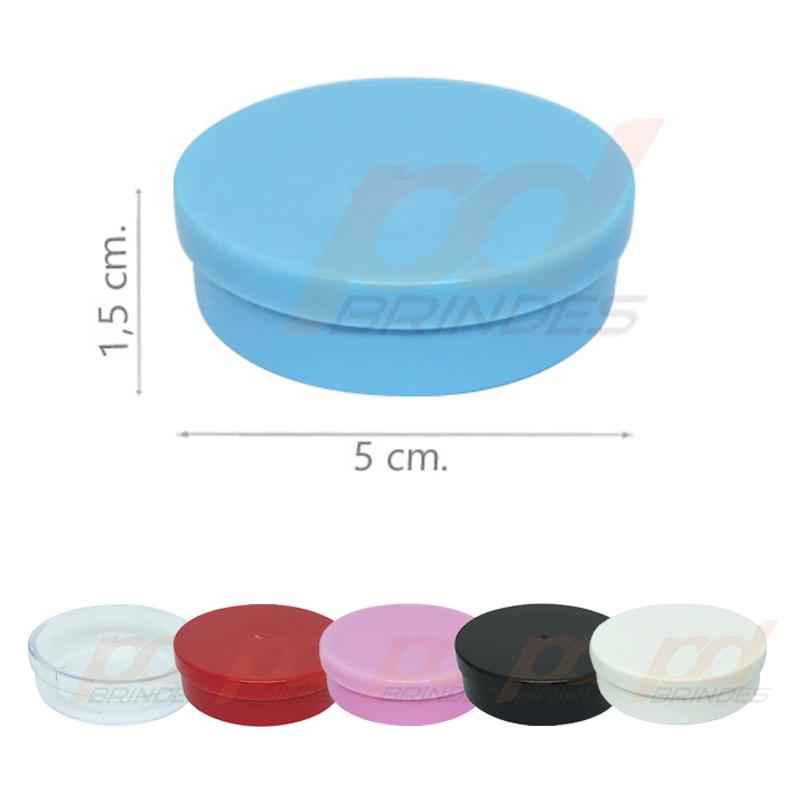 Potinho Plástico 5x1,5 cm - 50 Unidades