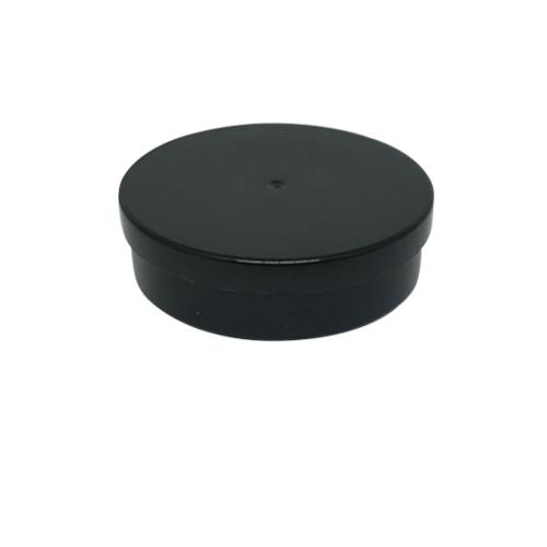 Potinho Plástico 5x1,5 cm. Preto - Kit 050 peças