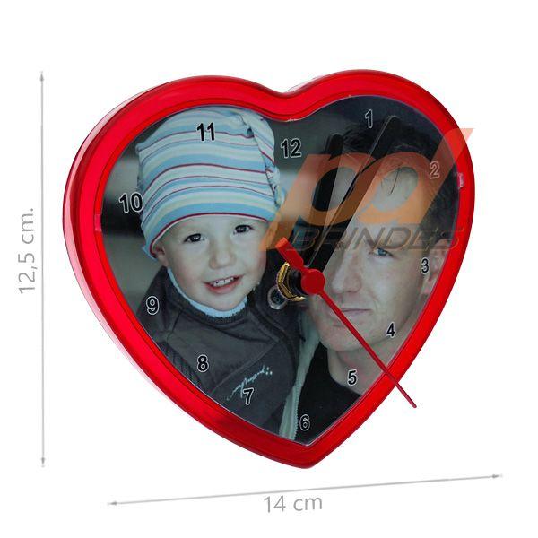 Relógio Coração - Kit 100 peças