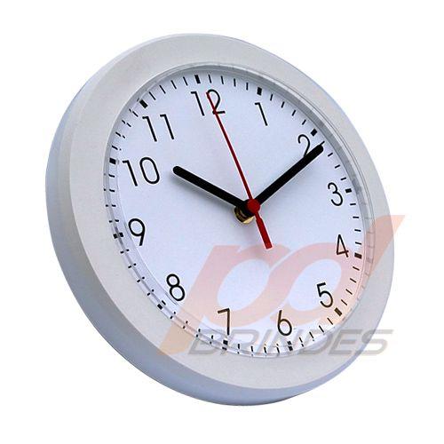 Relógio de parede Branco - Kit 20 peças
