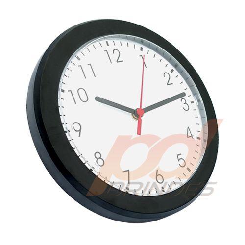 Relógio de parede Preto - Kit 20 peças