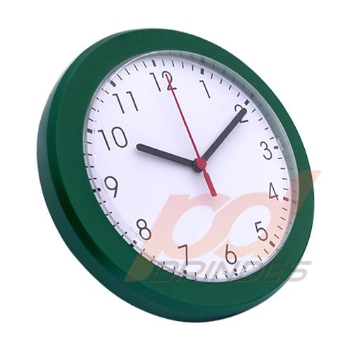 Relógio de parede Verde - Kit 05 peças