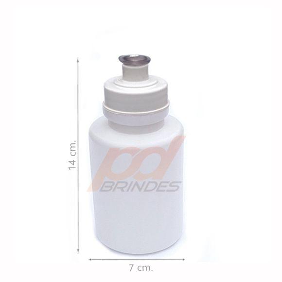 Squeeze 350 ml. tampa Branca - Kit 70 peças