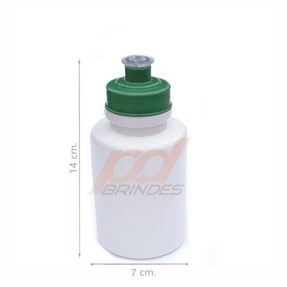 Squeeze 350 ml. tampa Verde - Kit 70 peças