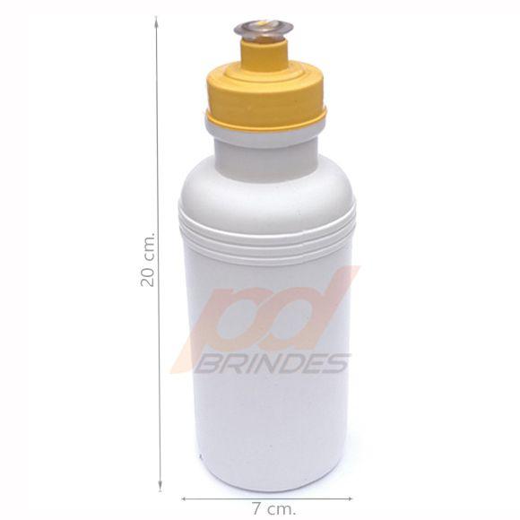 Squeeze 500 ml. tampa Amarela - Kit 10 peças