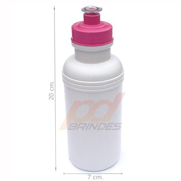 Squeeze 500 ml. tampa Rosa - Kit 30 peças