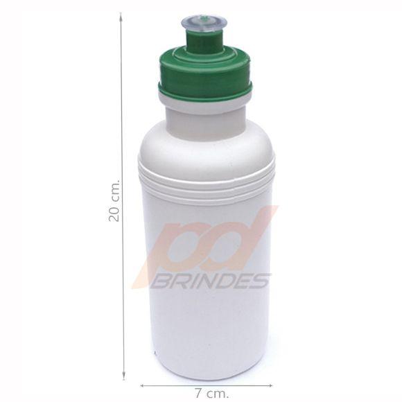 Squeeze 500 ml. tampa Verde - Kit 10 peças