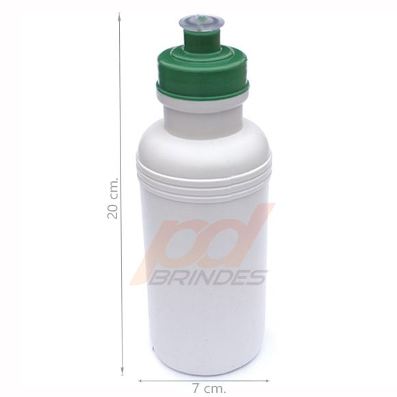 Squeeze 500 ml. tampa Verde - Kit 70 peças