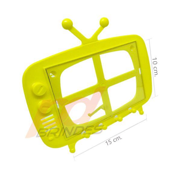 TV Retro 2 em 1 Amarelo - Kit 120 peças