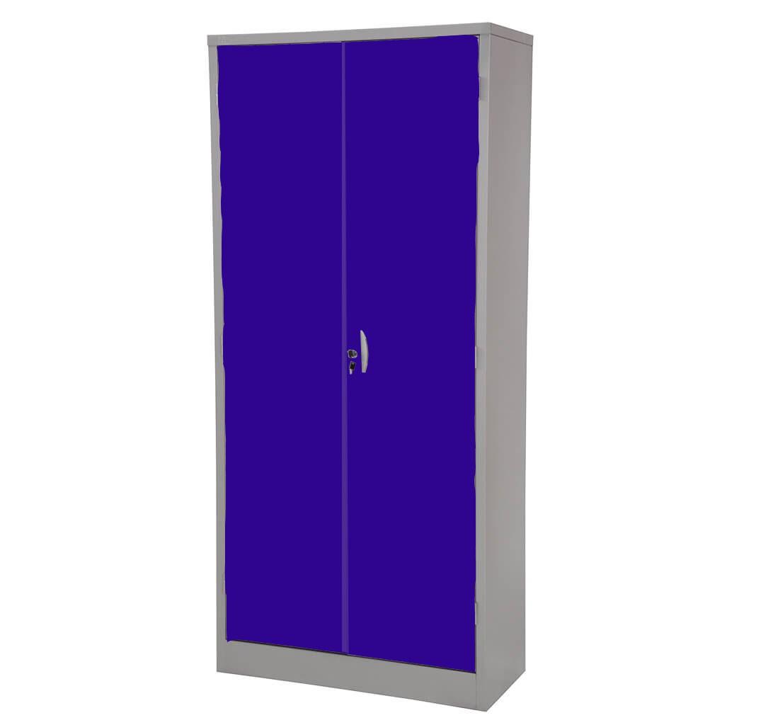 Armário de Aço Portas Azuis
