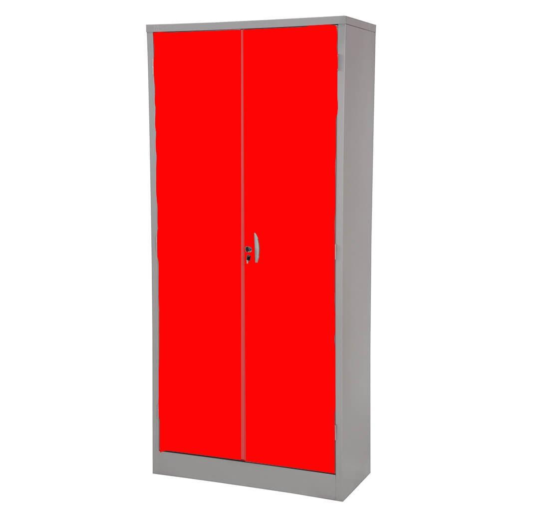 Armário de Aço Portas Vermelhas