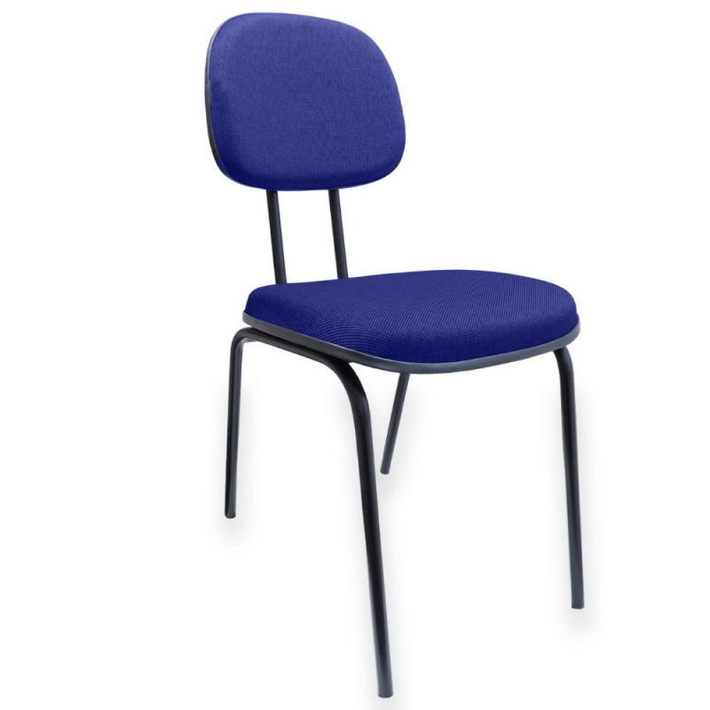 Cadeira Secretária Palito AZUL/PRETO