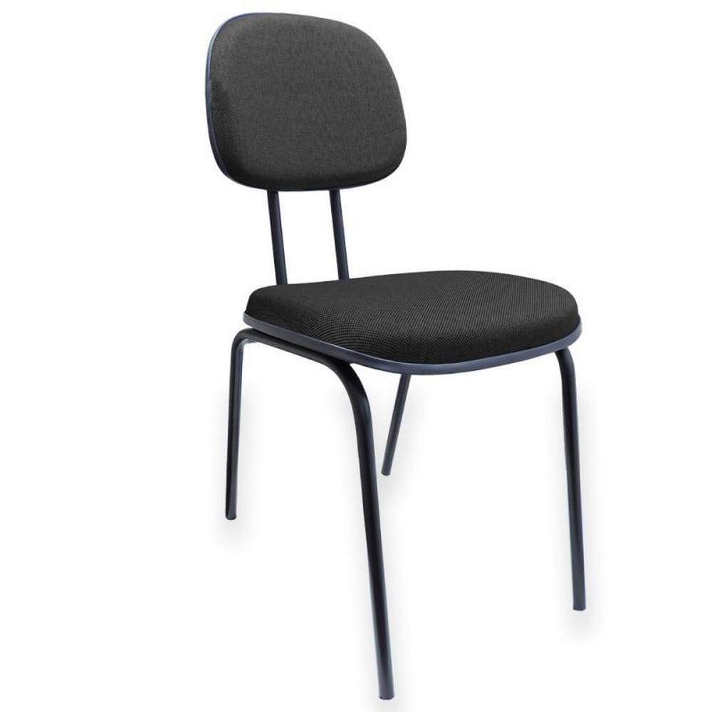 Cadeira Secretária Palito PRETA