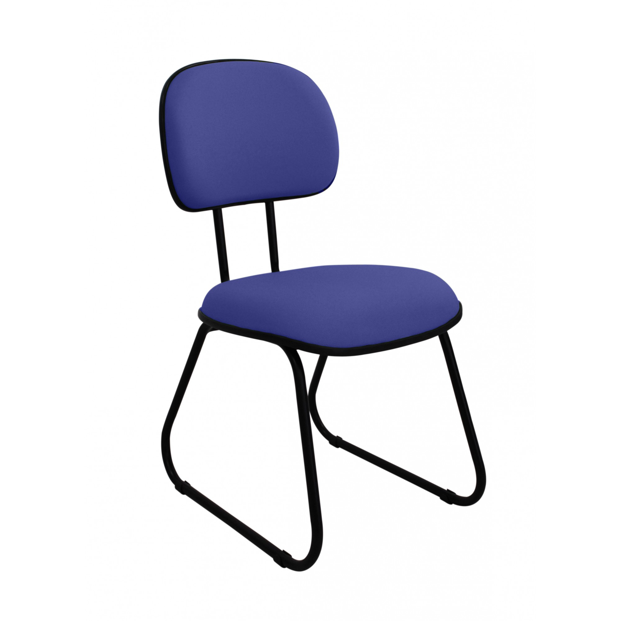 Cadeira Secretária Sky AZUL/PRETO