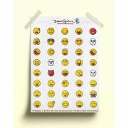 Adesivo emoticons
