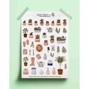 Adesivo jardinagem