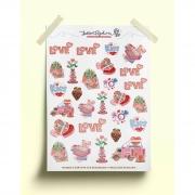 Adesivos sweet love