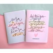 Kit 2 caderninhos - sem pauta