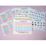 Kit planner - 16 mini cartelas