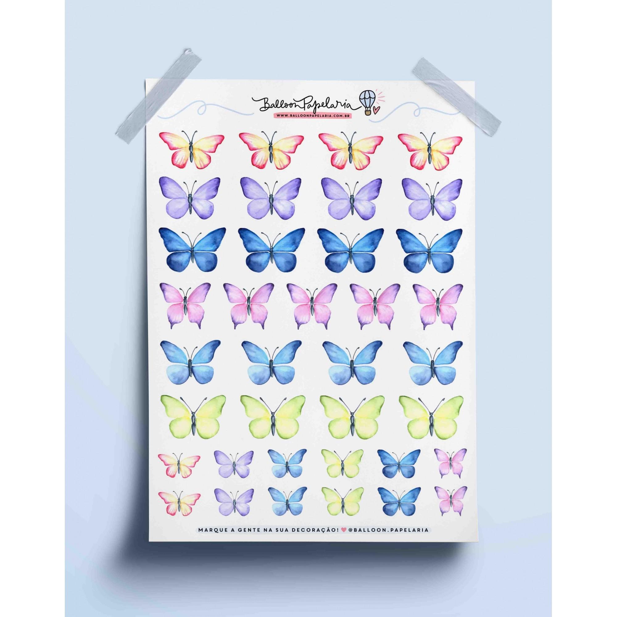 Adesivo borboletas