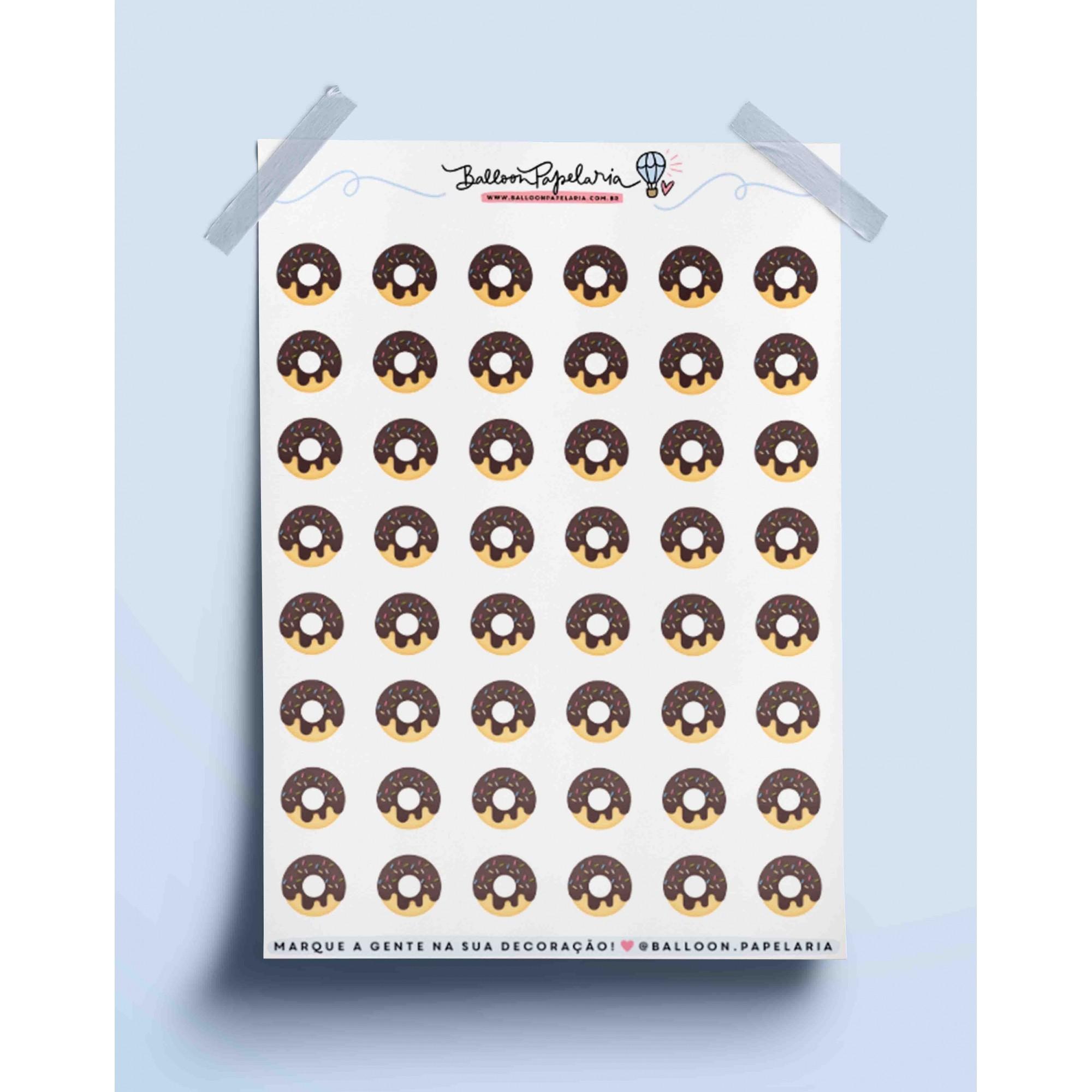 Adesivo donuts