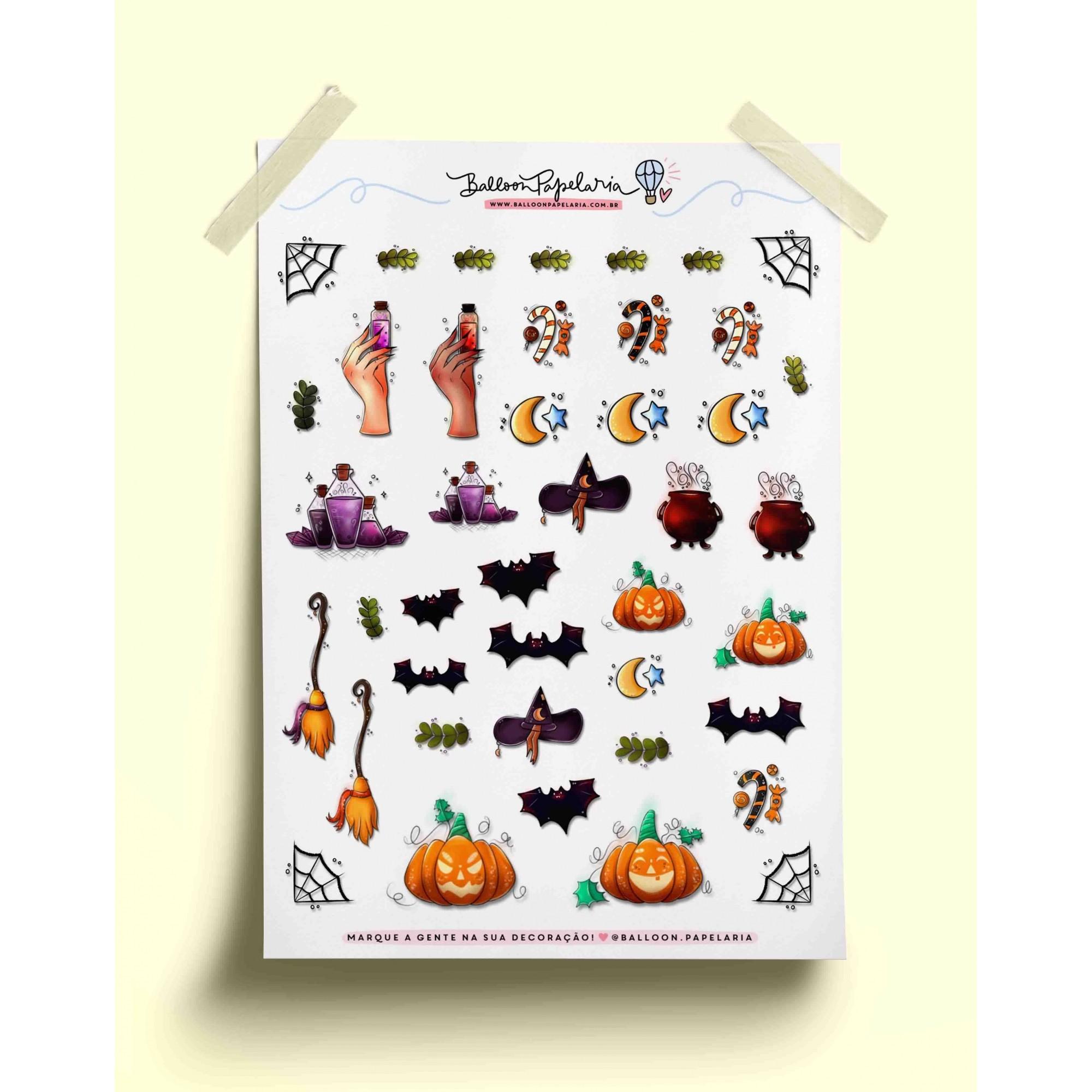 Adesivo halloween