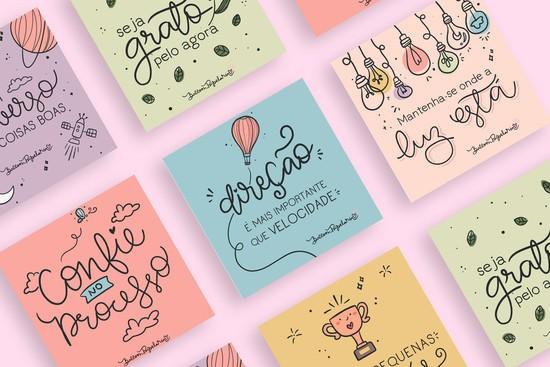 Kits cards motivacionais