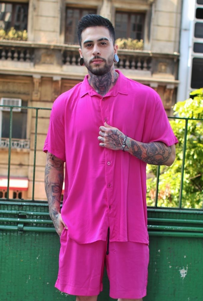 Bermuda Viscose Pink