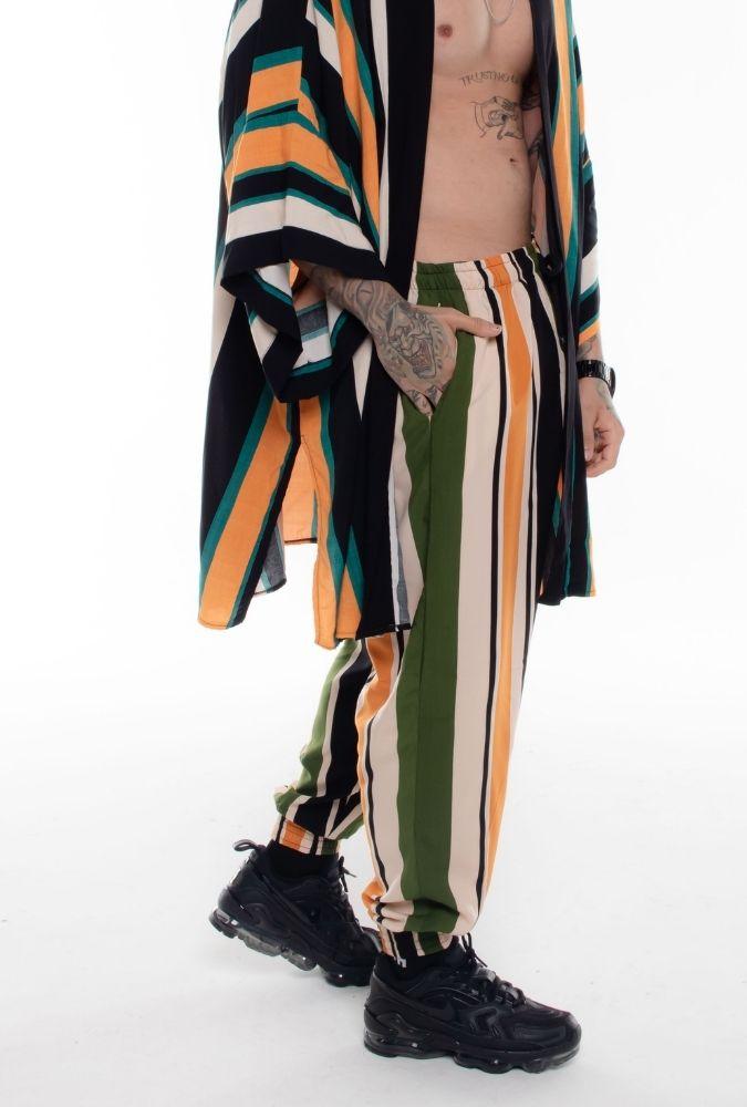 Calça Viscose Striped I