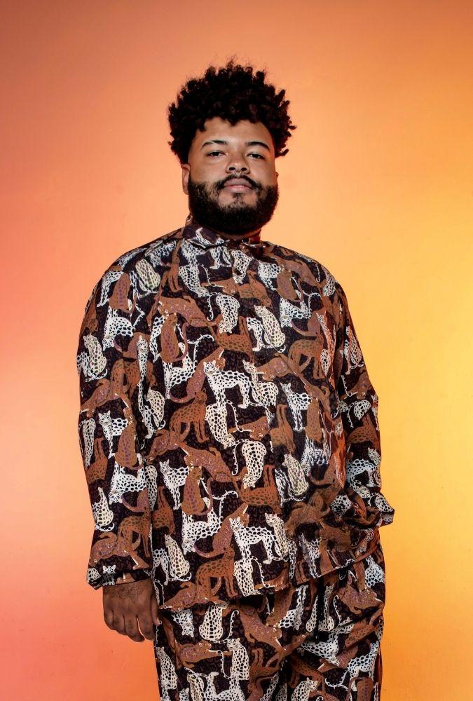 Camisa Felinos Manga Longa