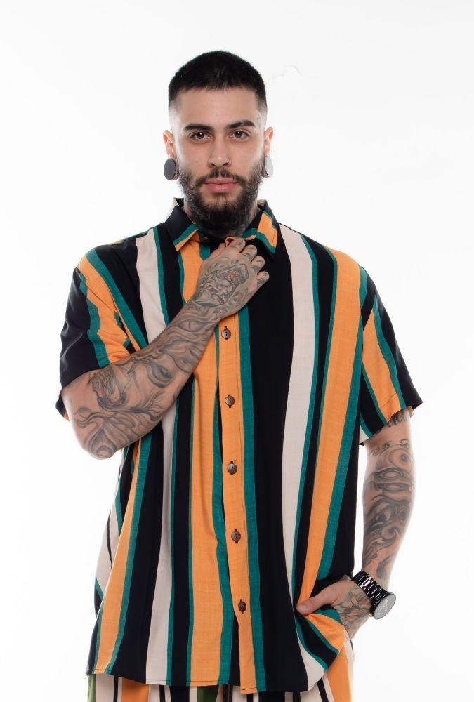 Camisa Striped