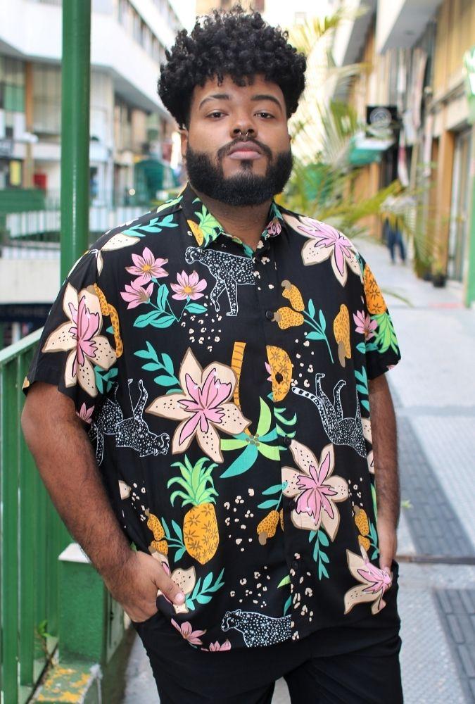Camisa Wild Pineapple