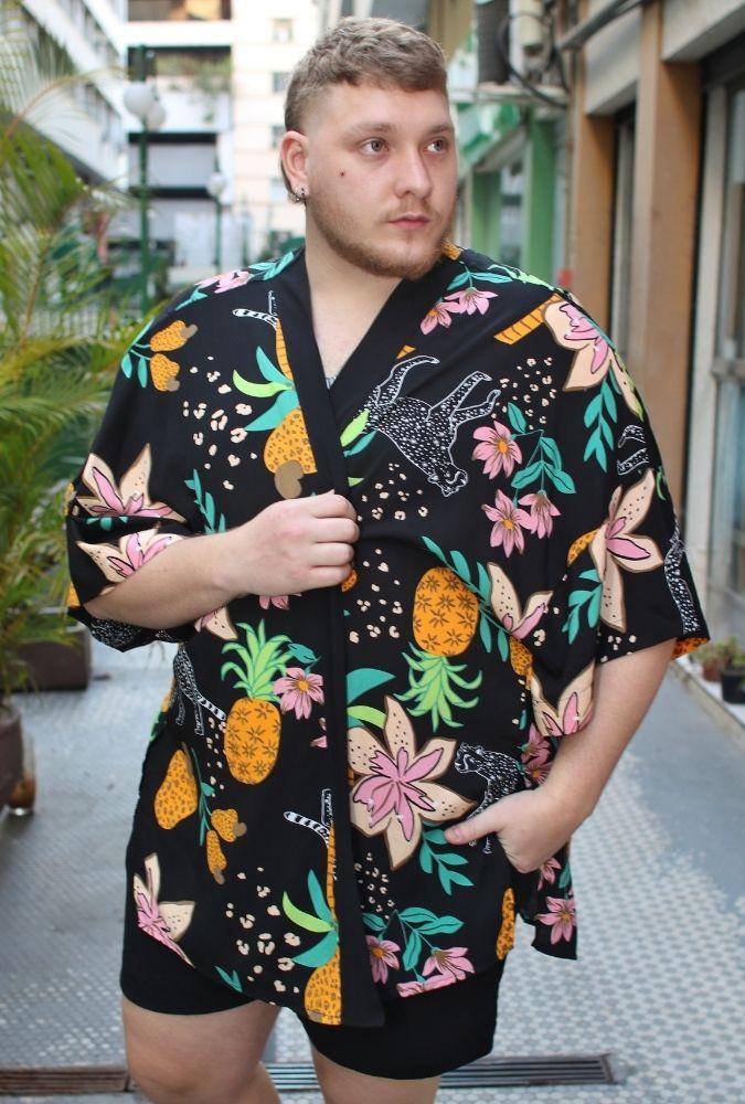Kimono Wild Pineapple