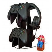 Suporte Para Headset e Controles Xbox One Playstation Ps4 Ps5