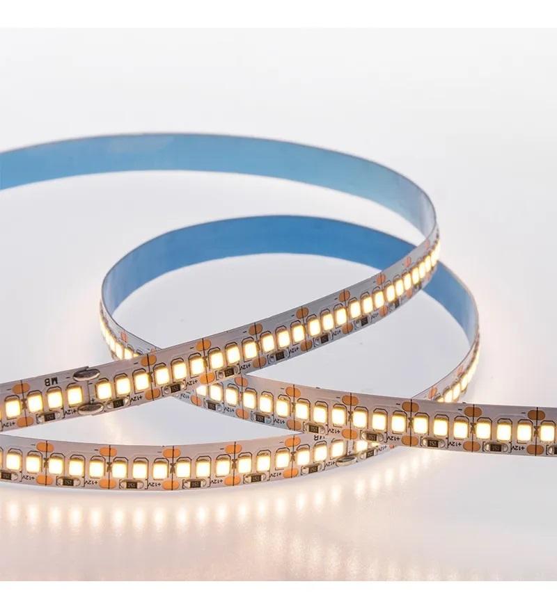 FITA LED 3528 240 LEDS PROFISSIONAL ALTO BRILHO (5 METROS) BRANCO-QUENTE