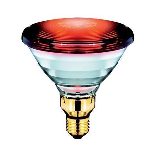 LAMPADA INFRAVERMELHO MEDICINAL PAR38 150W 110V E27