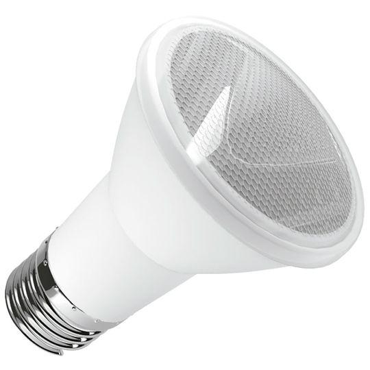 LAMPADA LED PAR 20 6W E27 IP65 BIVOLT BRANCO FRIO 6000k