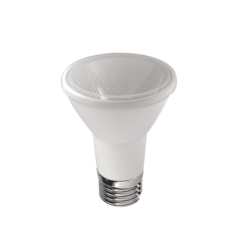 LAMPADA LED PAR 20 6W E27 IP65 BIVOLT BRANCO QUENTE 2700k